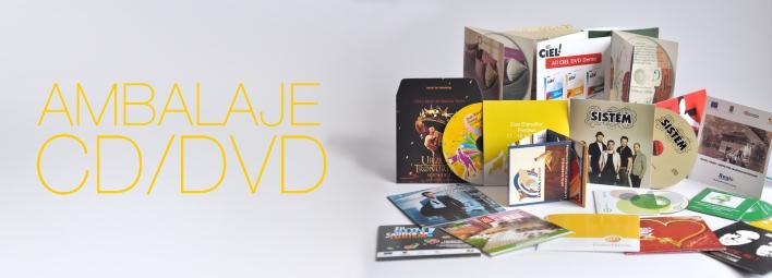 Ambalaje CD-DVD